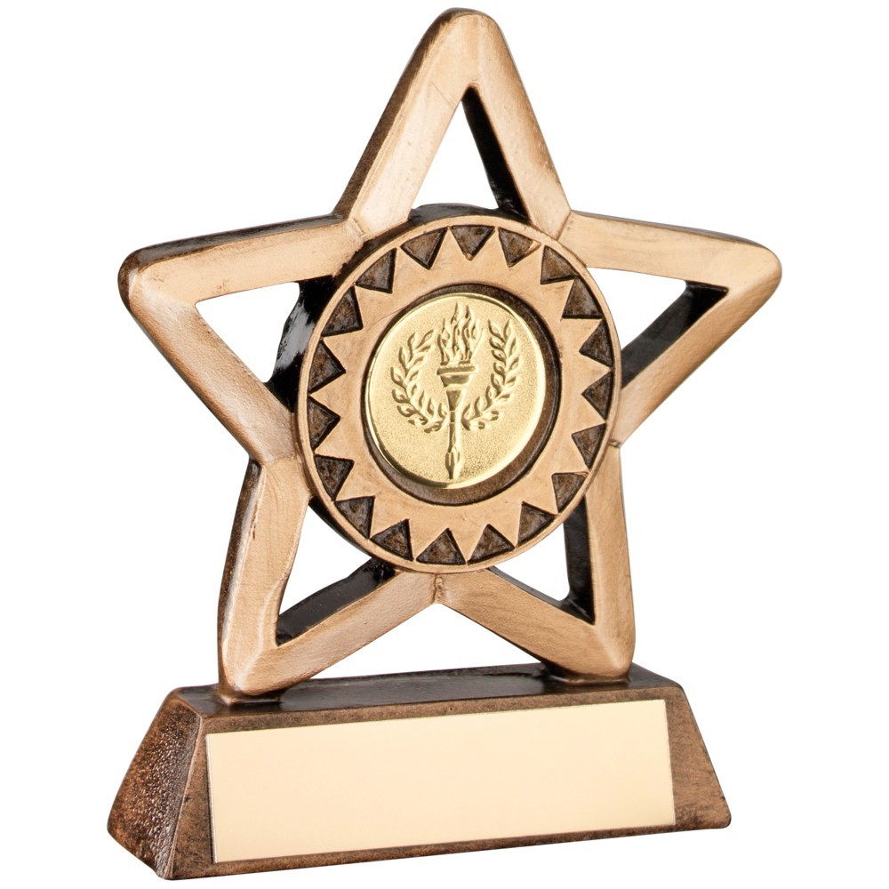 Mini Resin Star Suitable for All Sports - Available in 2 sizes