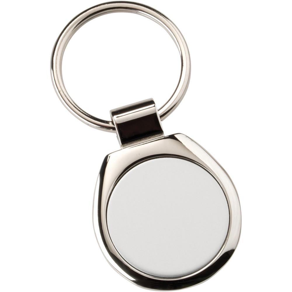 3cm Metal Keyring - Round