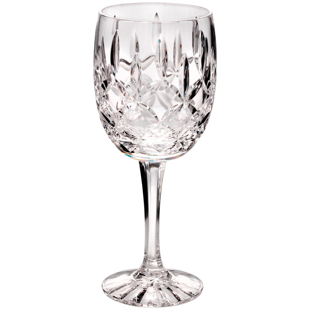 18.5cm 200Ml Classic Wine Glass - Fully Cut