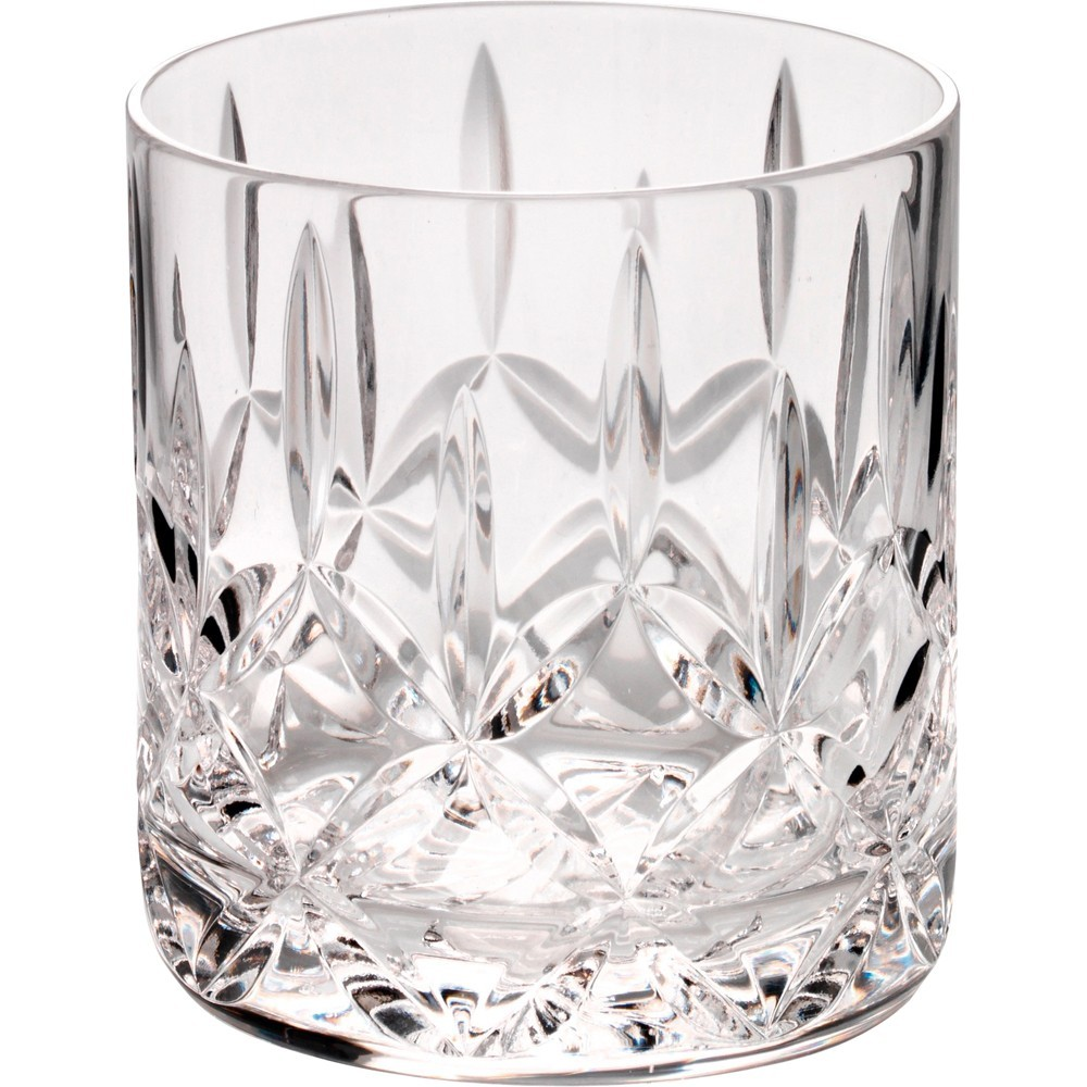 8.5cm 290Ml Whiskey Glass - Fully Cut