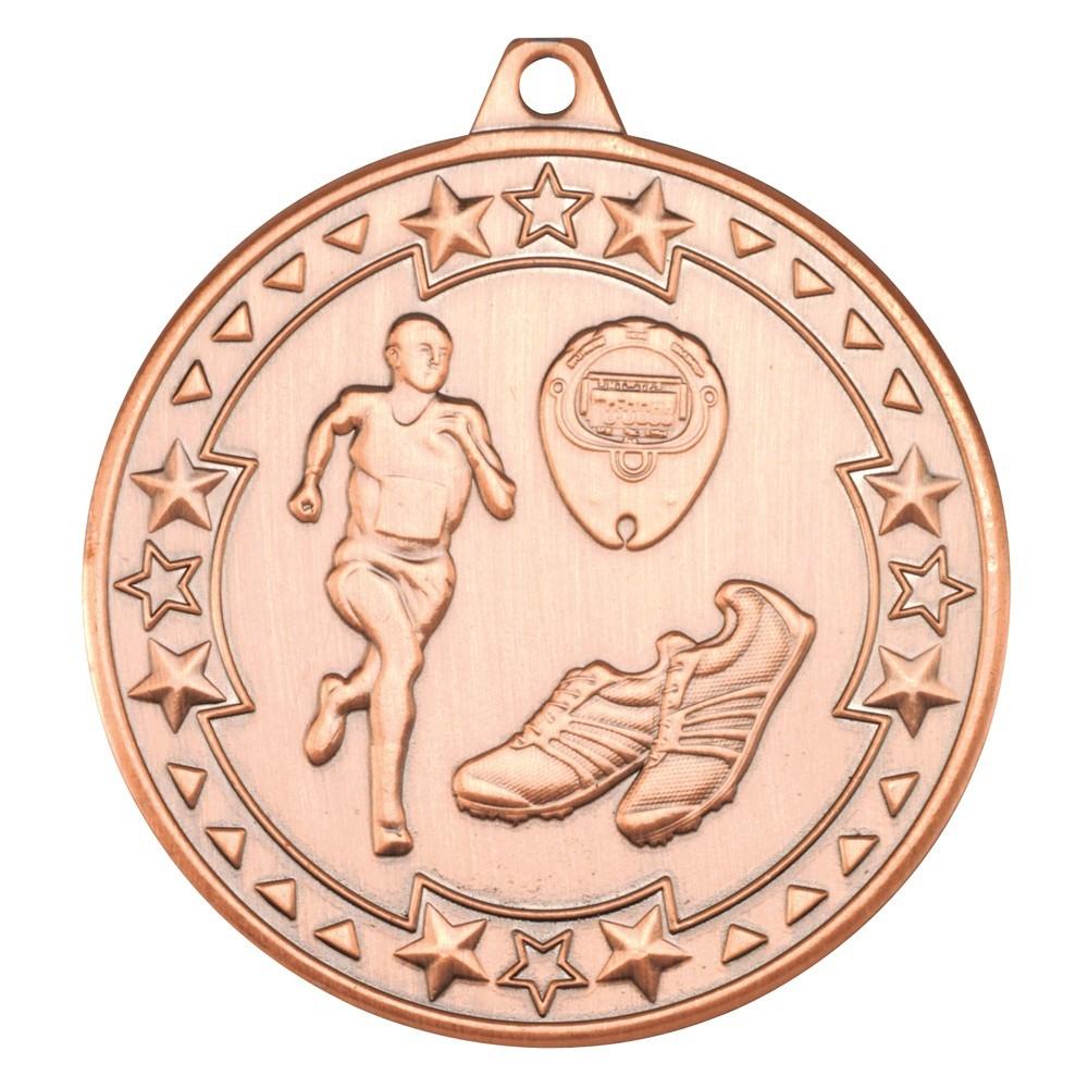 Running 'Tri Star' Medal