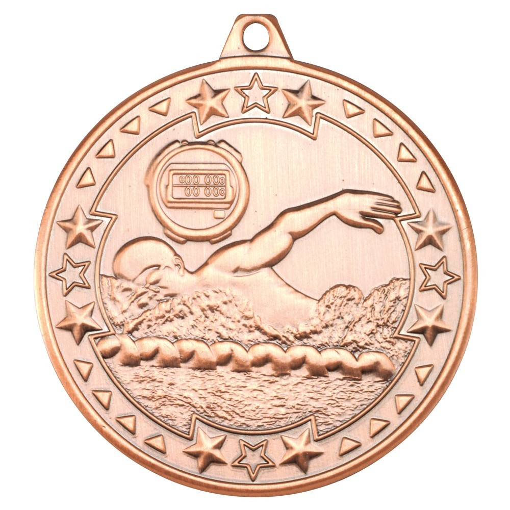 Swimming 'Tri Star' Medal