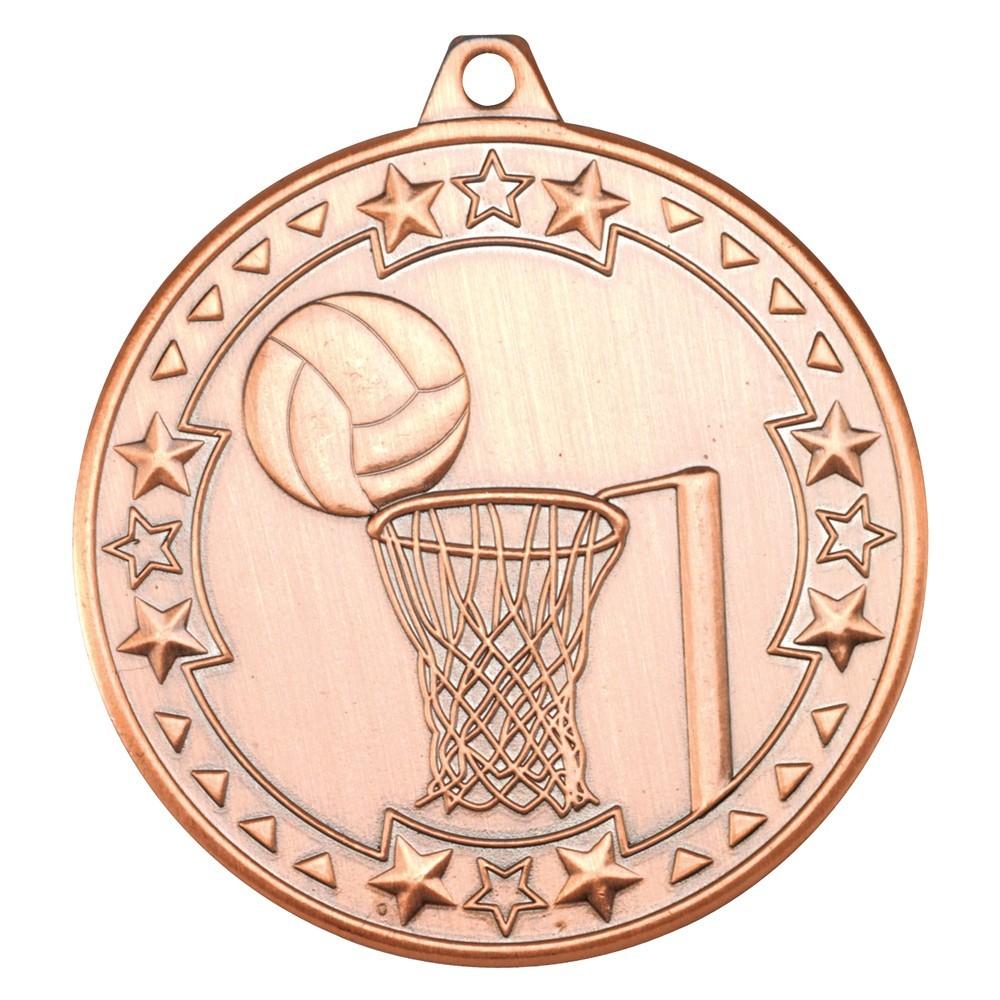 Netball 'Tri Star' Medal
