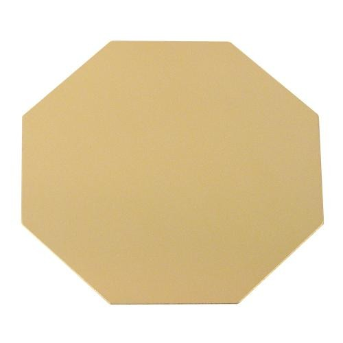 Gold Octagonal Engraving Plate (W33, H33)