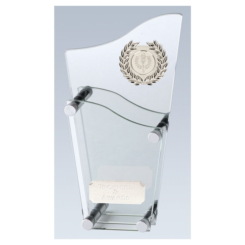Topmost Glass Clear Award And Mirror