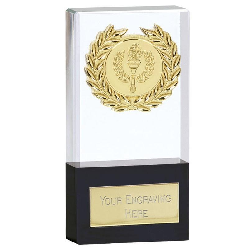 Uniform Crystal Clear Award And Black