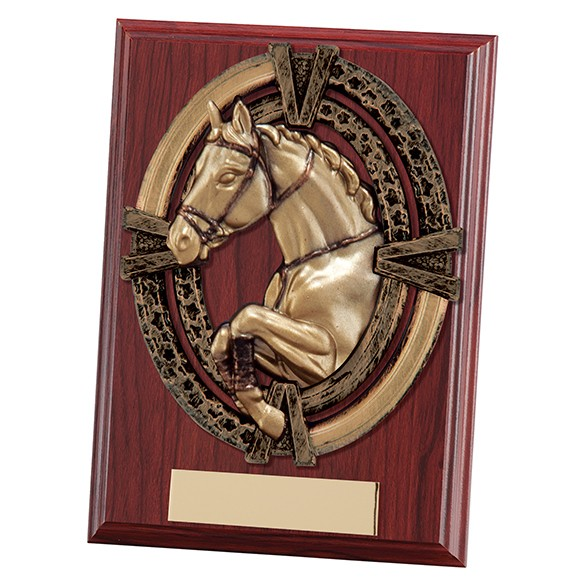 Maverick Apollo Equestrian Plaque 125mm