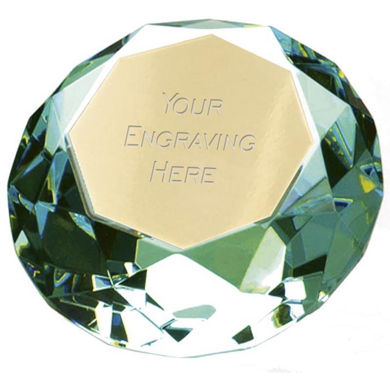 Clarity Green Diamond100 Clear Award And Green