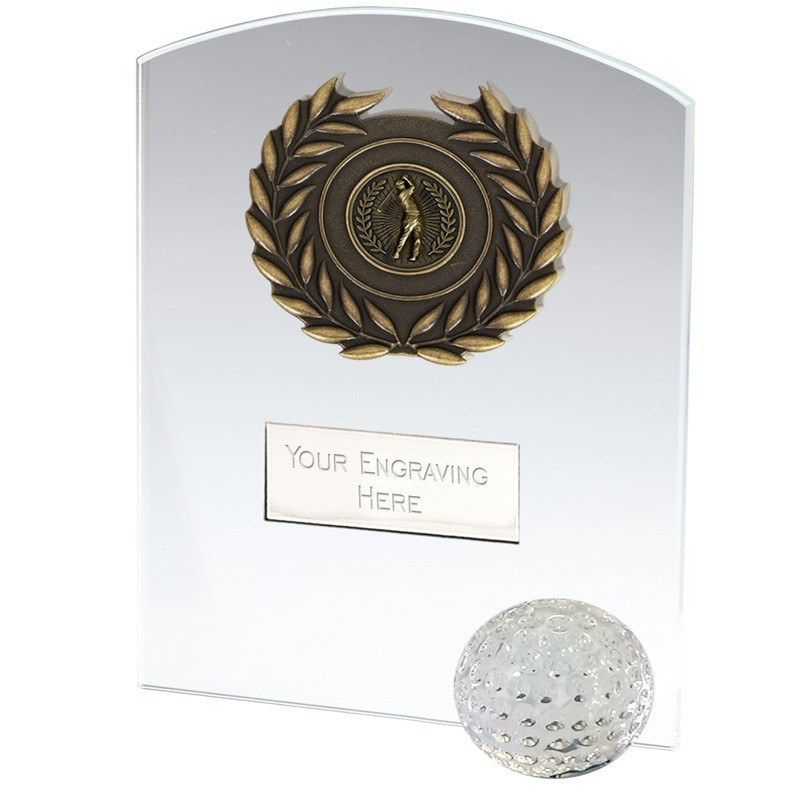 Strike Golf Jade Glass Clear Award