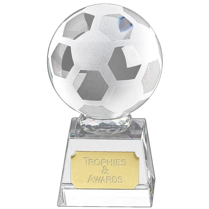 Victory3 Crystal Football Clear Award