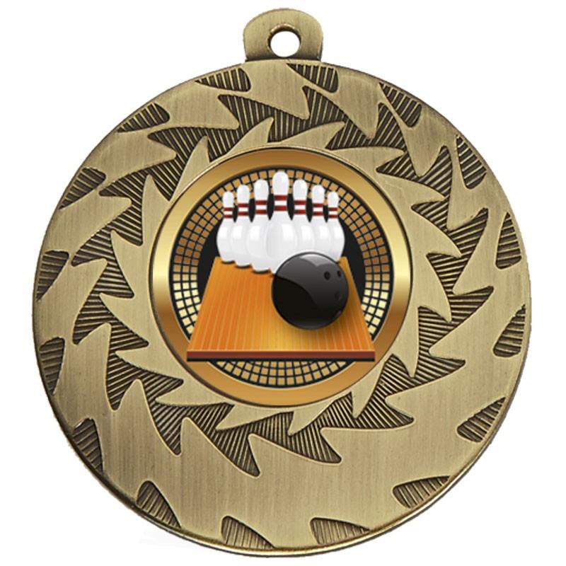 5cm Prism Ten-Pin Medal