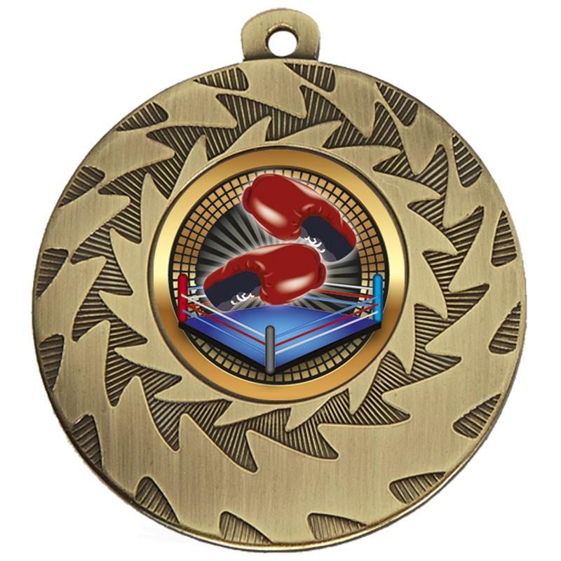 5cm Prism Boxing Medal & Case