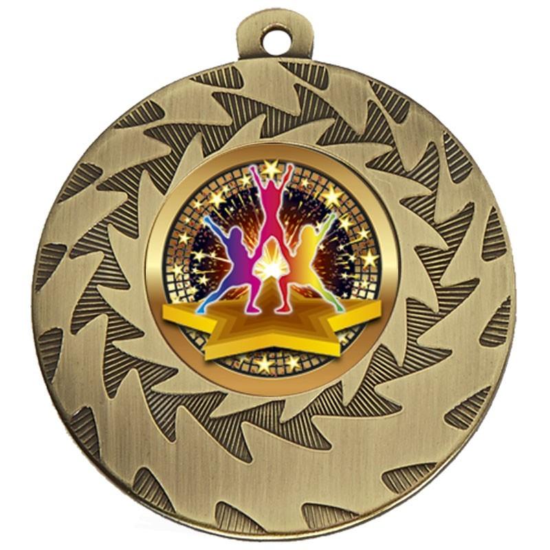 5cm Prism Cheer Medal