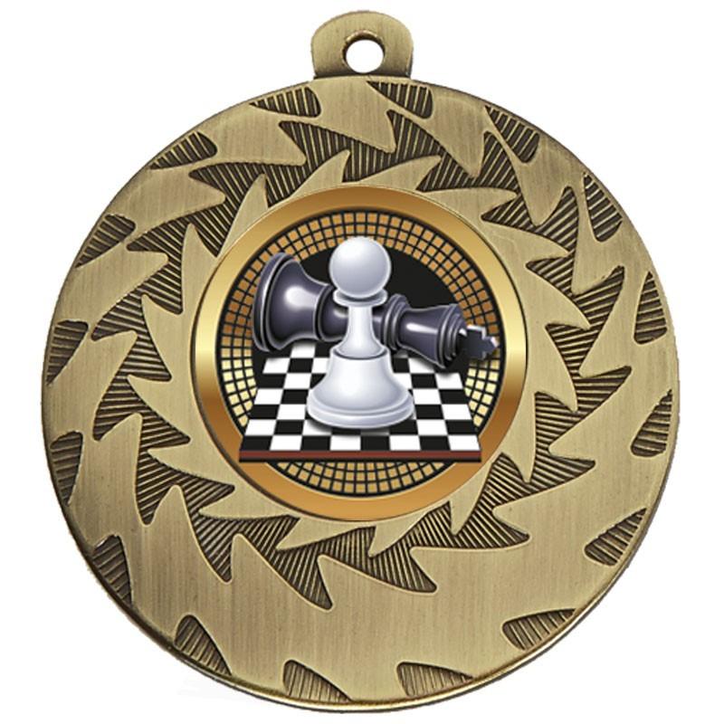5cm Prism Chess Medal