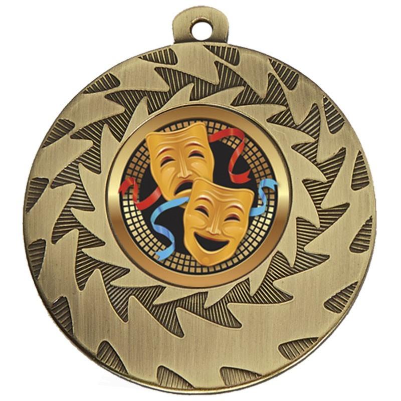 5cm Prism Drama Medal