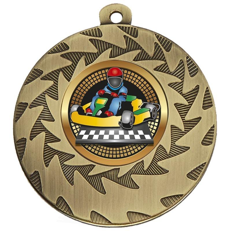 5cm Prism Go-Kart Medal