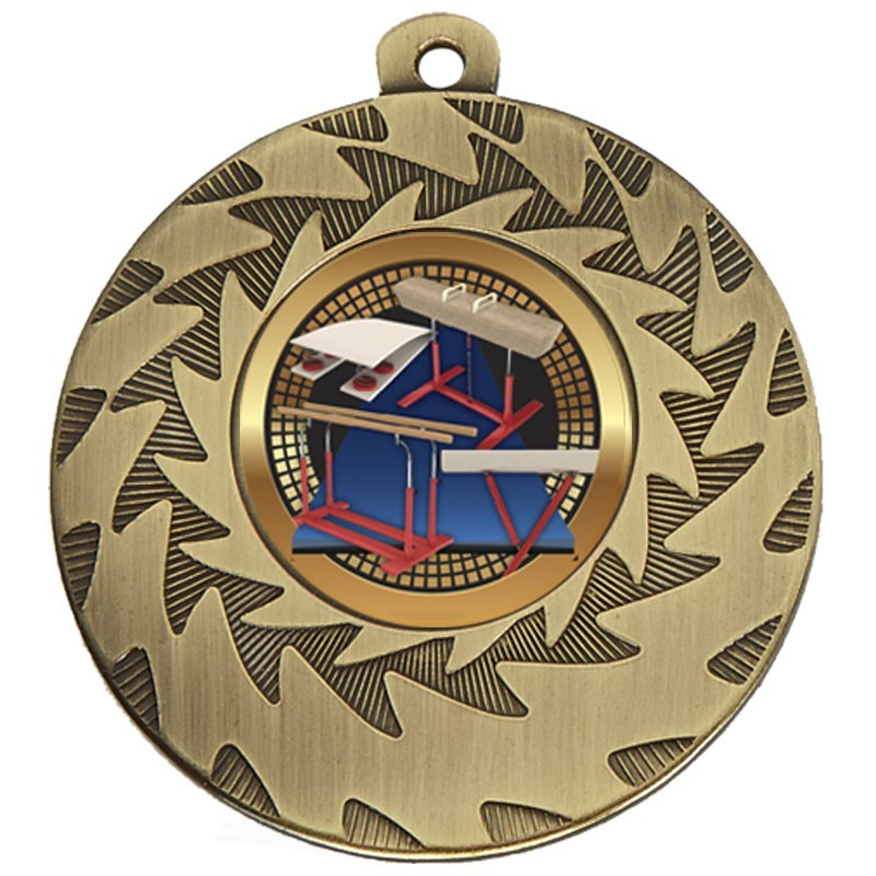 5cm Prism Gymnastics Medal