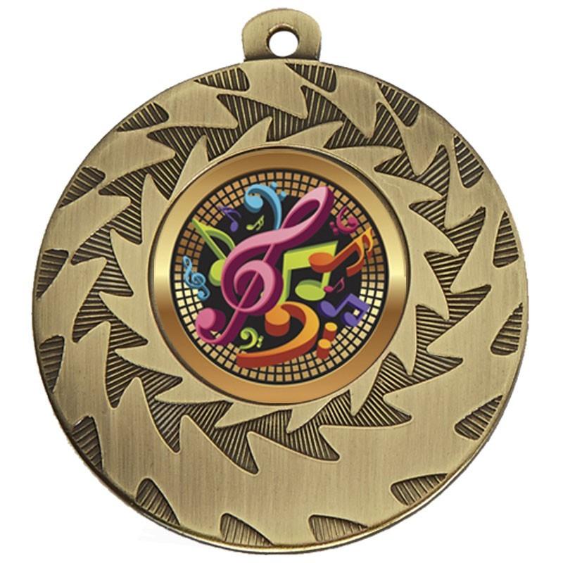 5cm Prism Music Medal