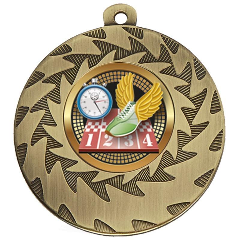 5cm Prism Track Medal