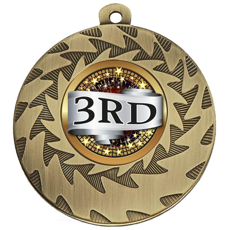 5cm Prism Place Medal