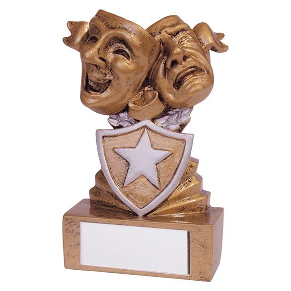 Shield Drama Mini Award 95mm