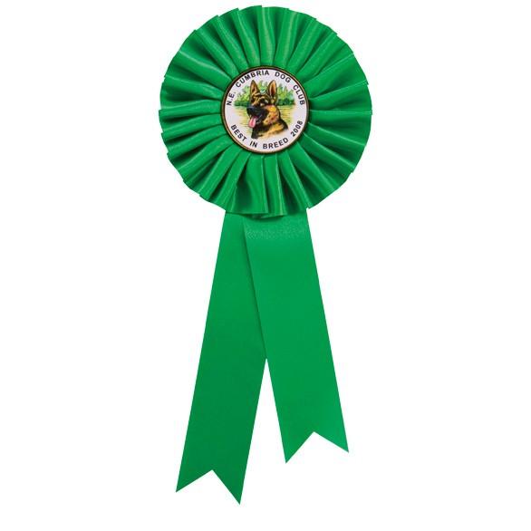 Green Rosette 255mm