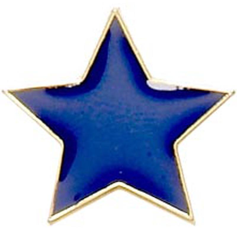 2cm Badge Flat Star