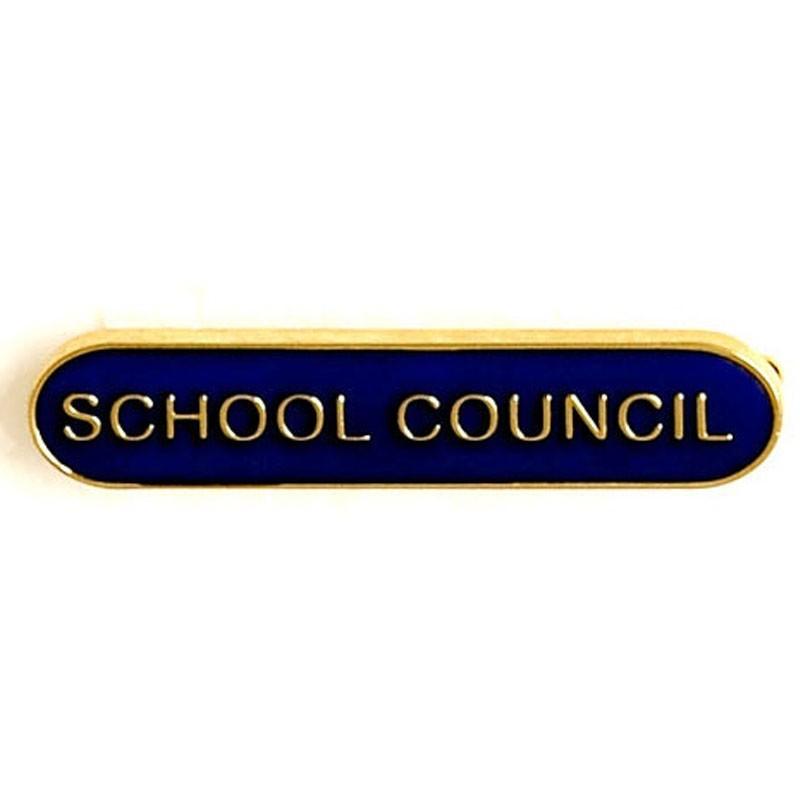 4X0.8cm Bar Badge School Council