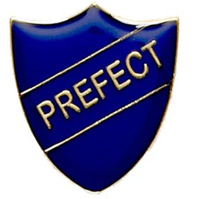 2.2X2.5cm Shield Badge Prefect