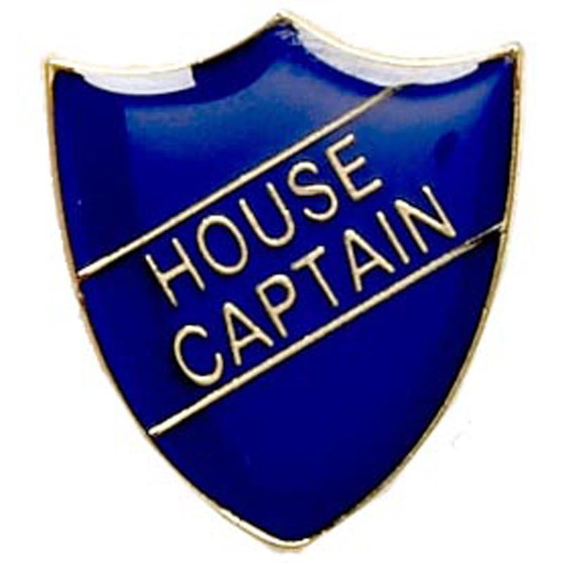 2.2X2.5cm Shield Badge House Captain