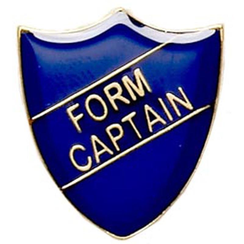 2.2X2.5cm Shield Badge Form Captain