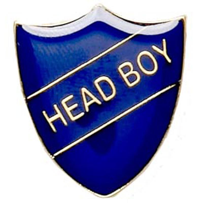 2.2X2.5cm Shield Badge Head Boy