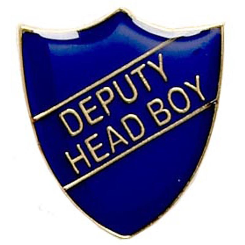 2.2X2.5cm Shield Badge Deputy Head Boy