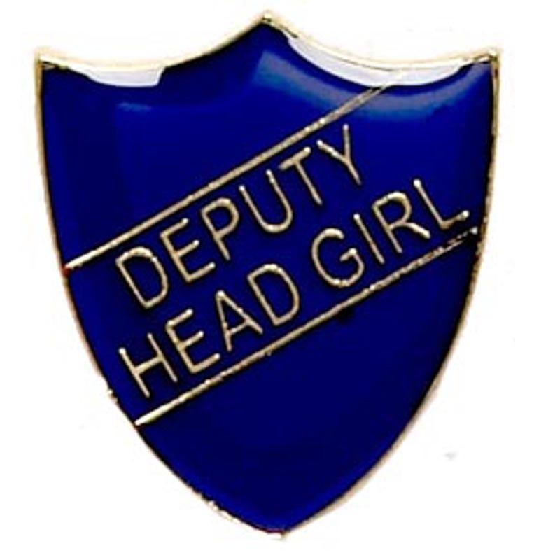 2.2X2.5cm Shield Badge Deputy Head Girl