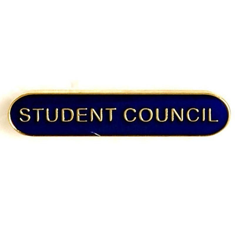 4X0.8cm Bar Badge Student Council