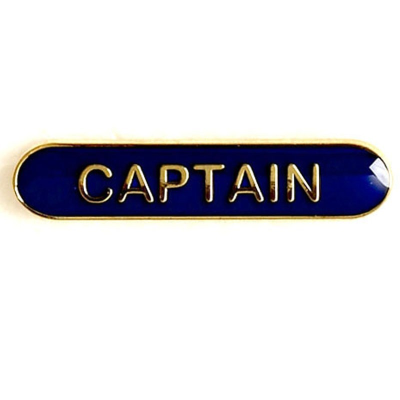 4X0.8cm Bar Badge Captain