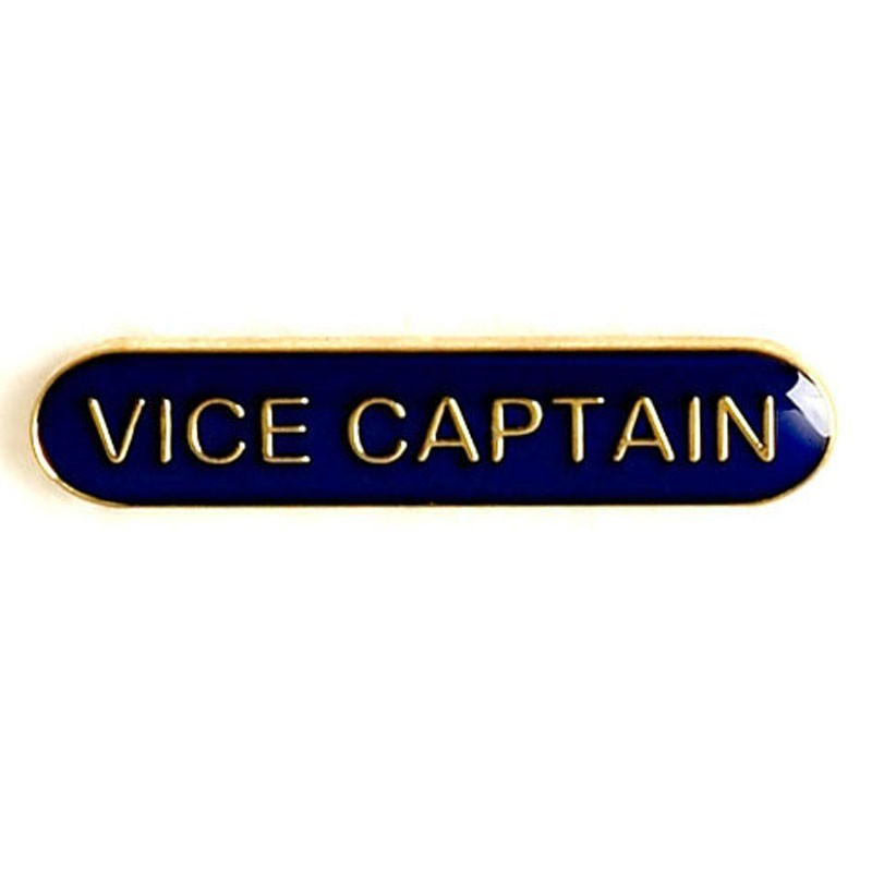 4X0.8cm Bar Badge Vice Captain