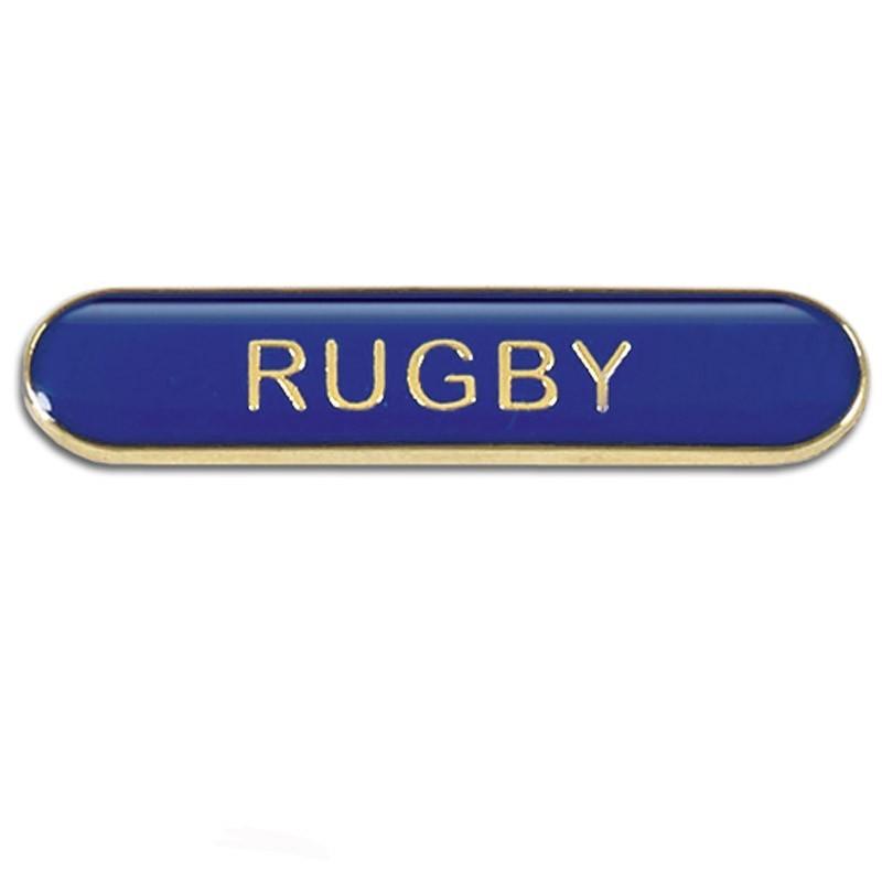 4X0.8cm Bar Badge Rugby