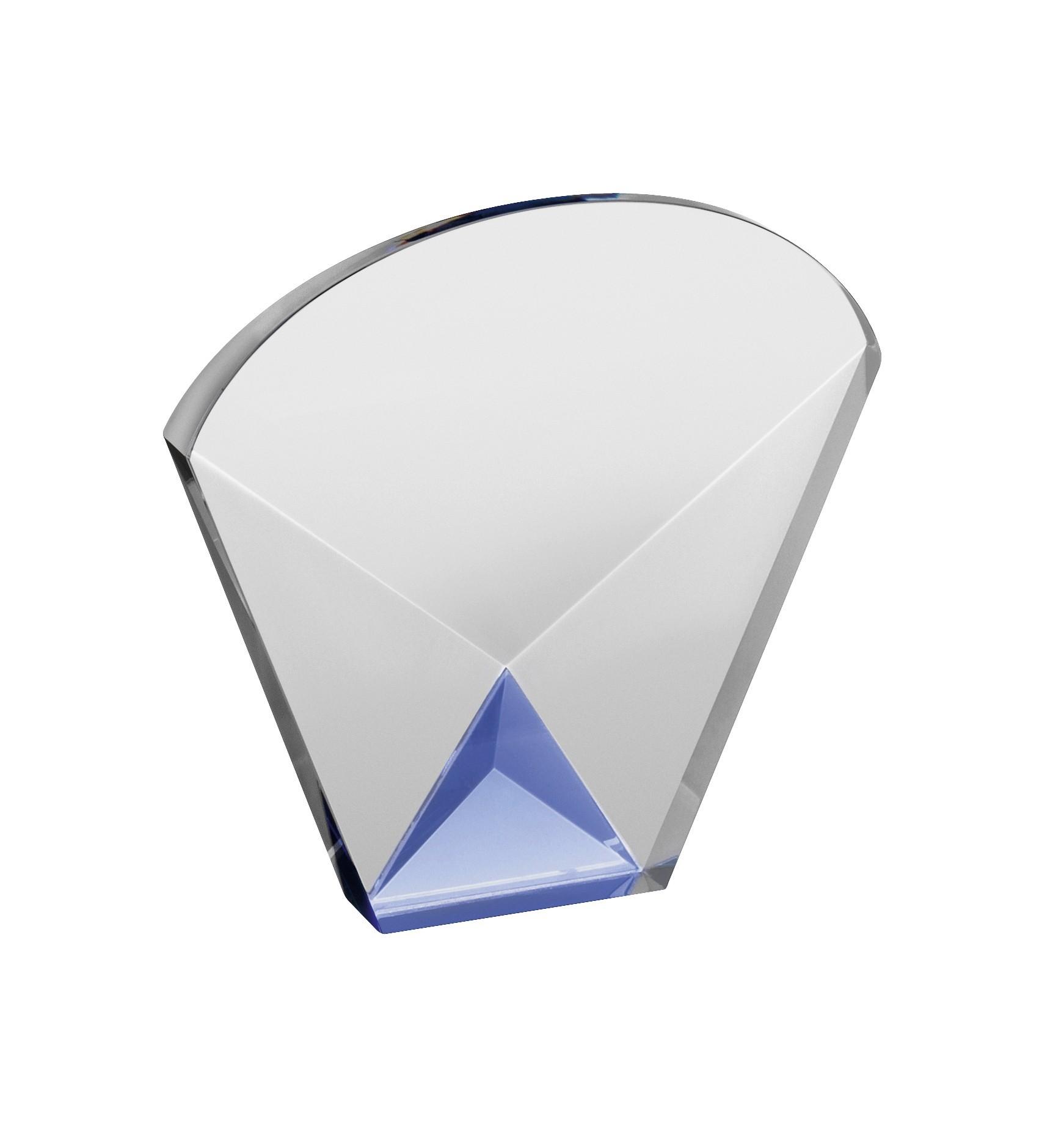 LG 12cm Crystal Award Boxed