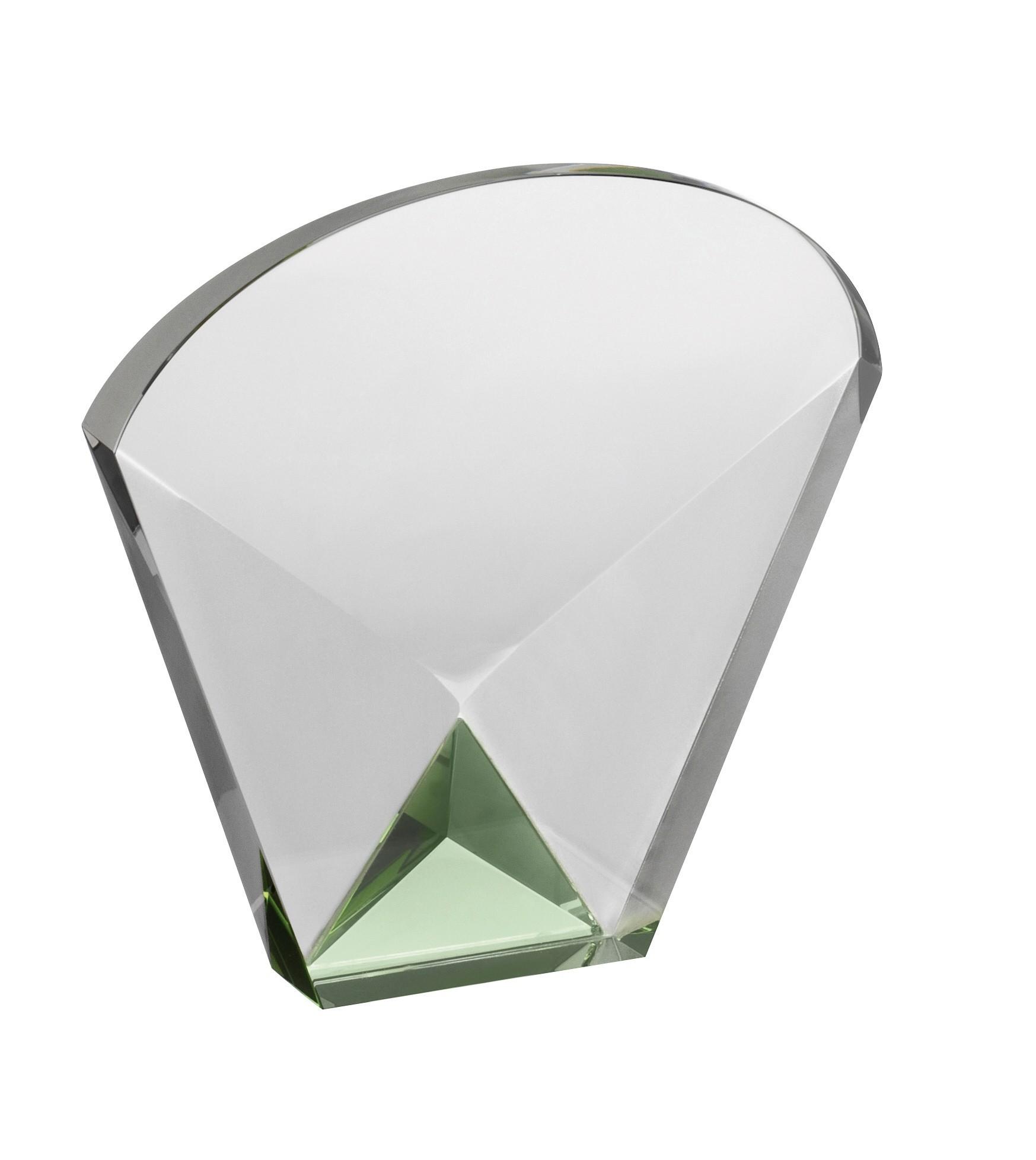LG 14cm Crystal Award Boxed