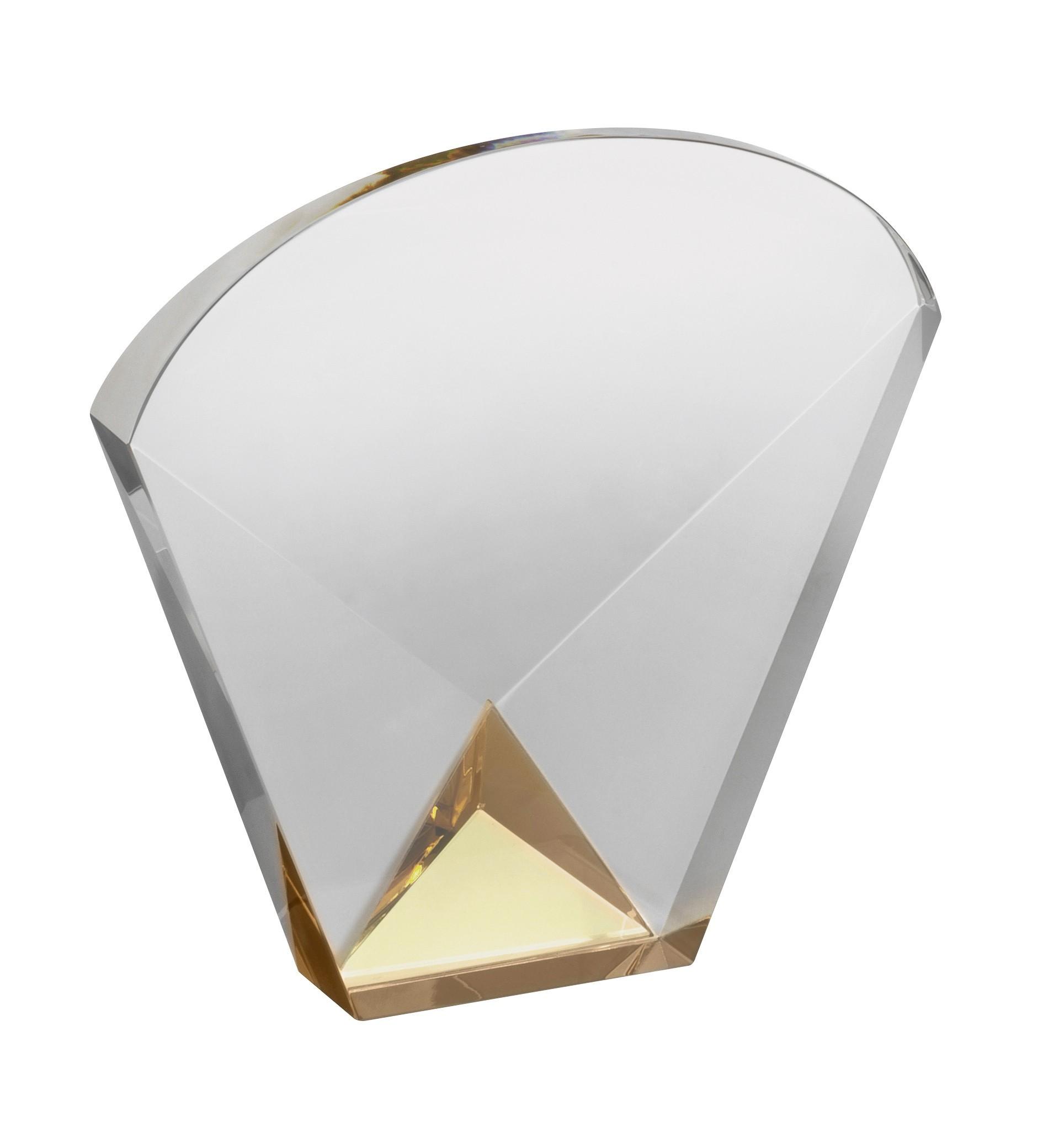 LG 15.5cm Crystal Award Boxed