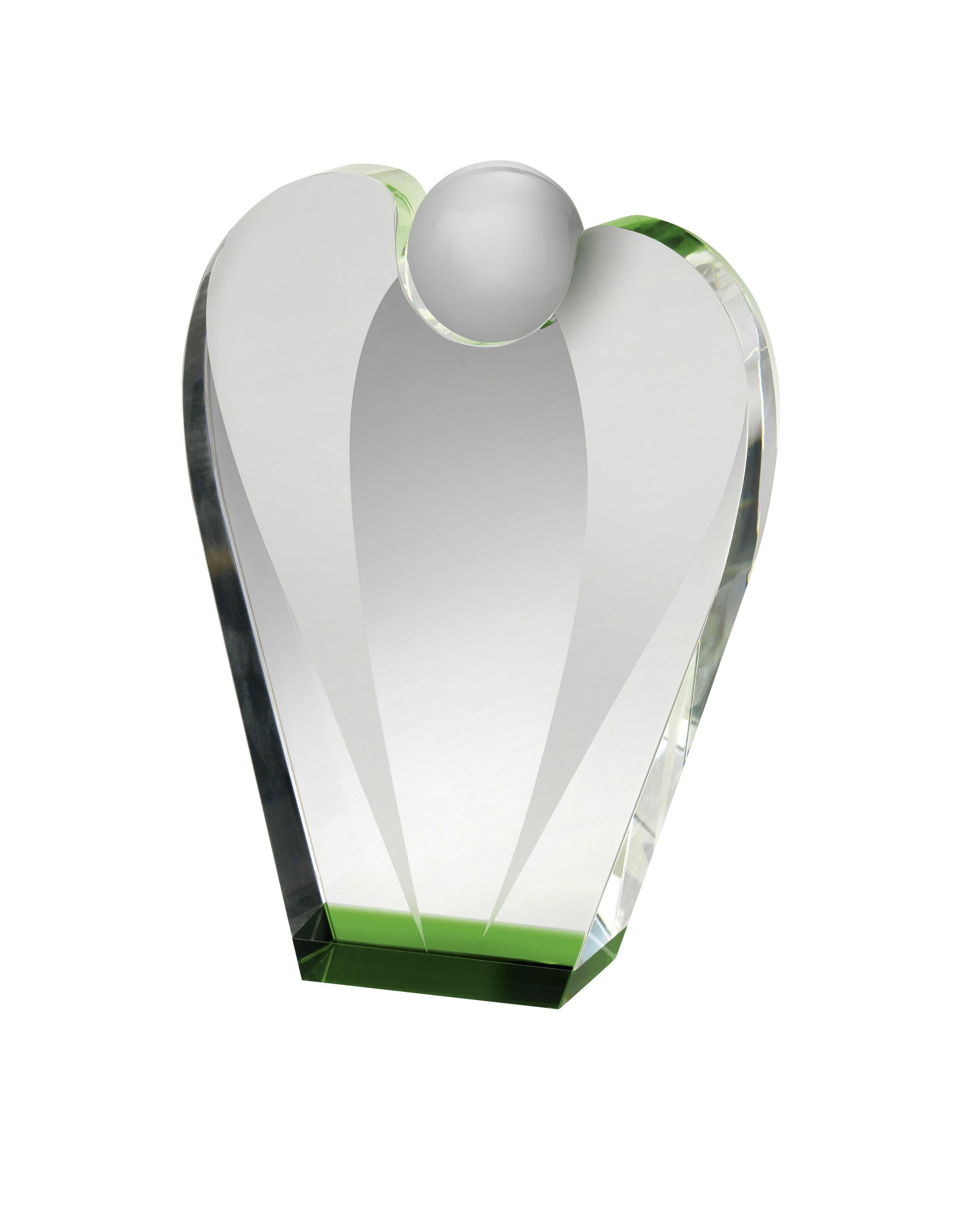 LG 21cm Crystal Award Boxed