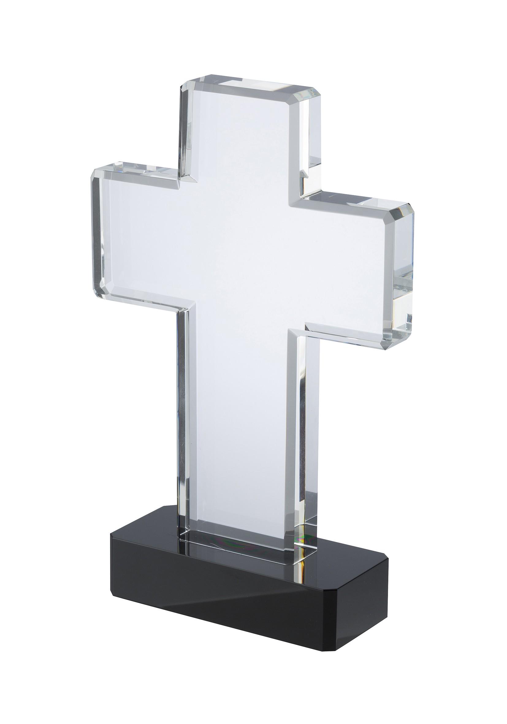 22cm Swatkins Crystal Cross