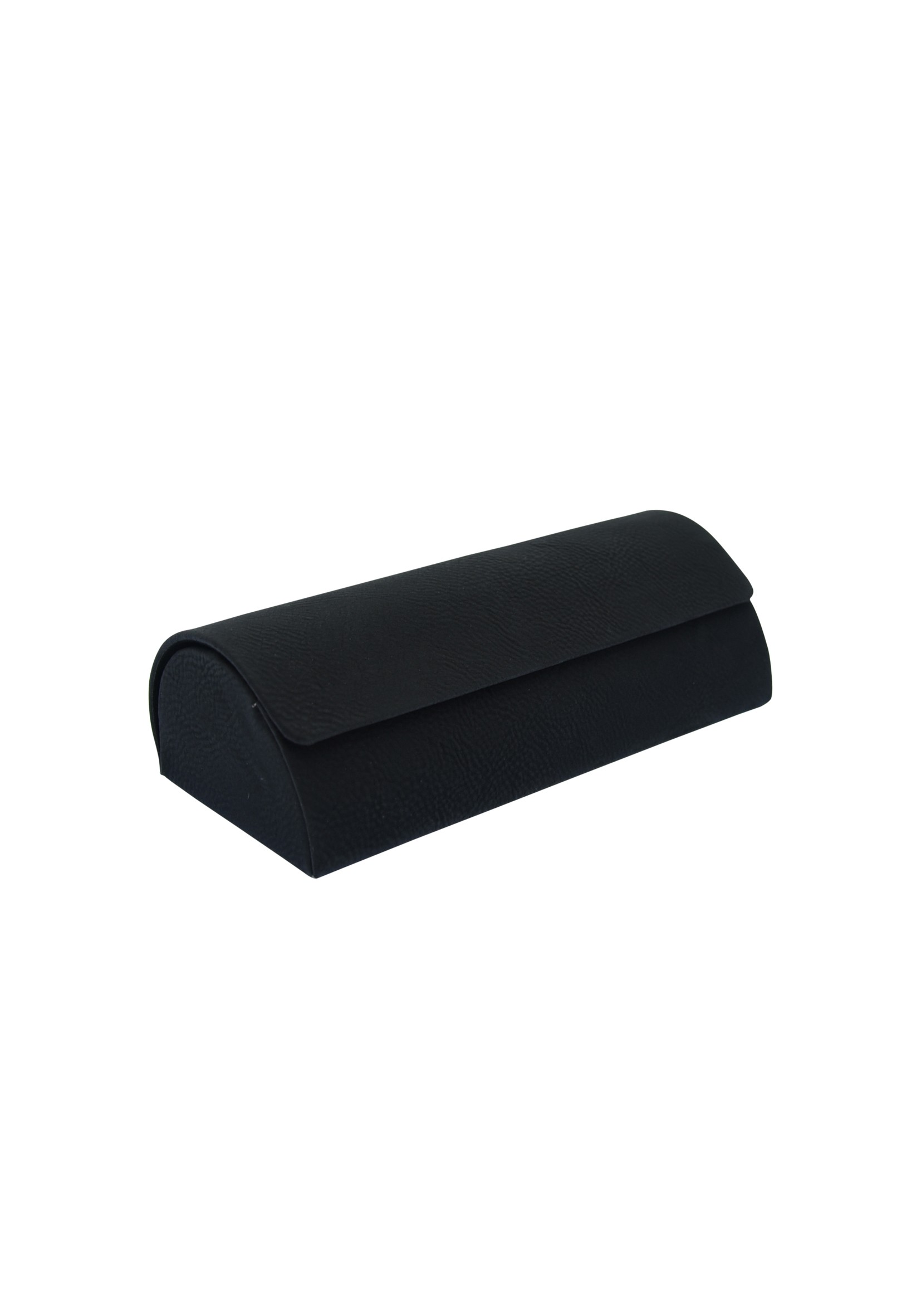 LZM Black with Silver Glasses Case