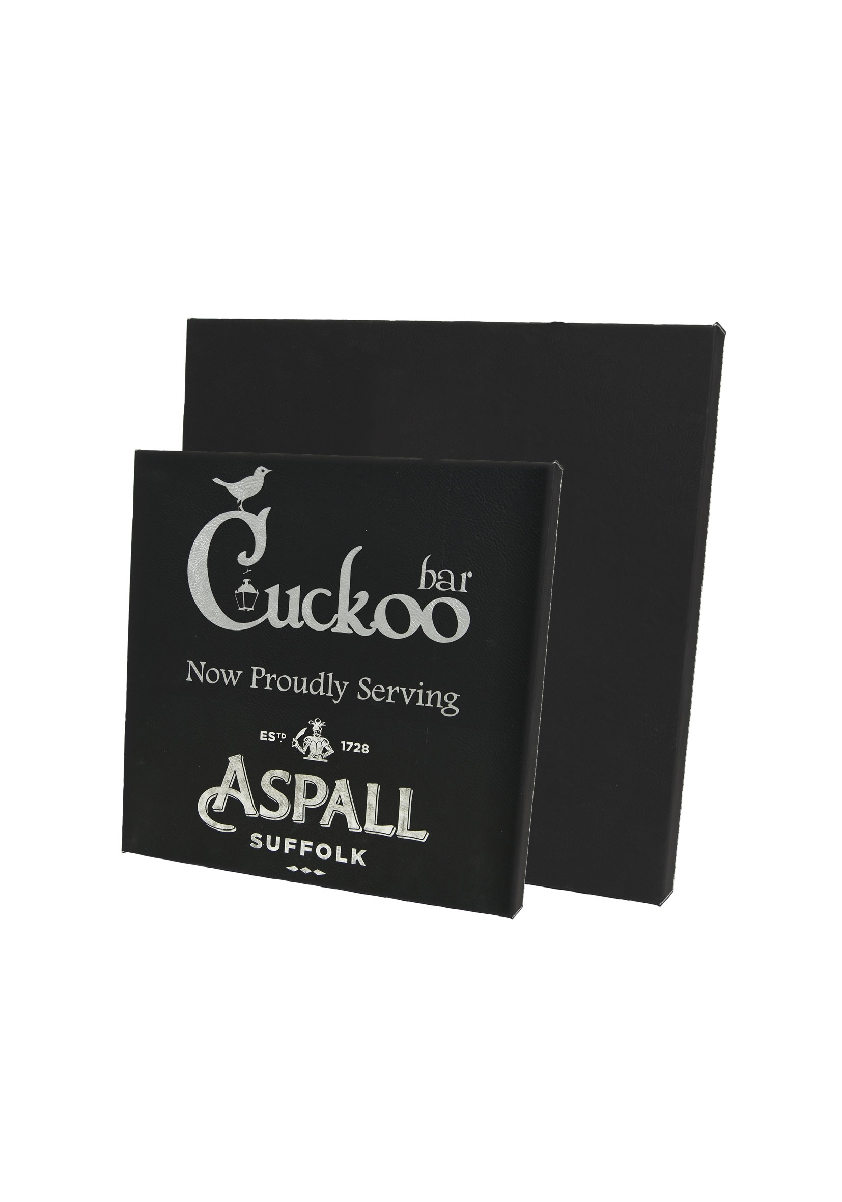LZXL Black with Silver Large Wall Plaque