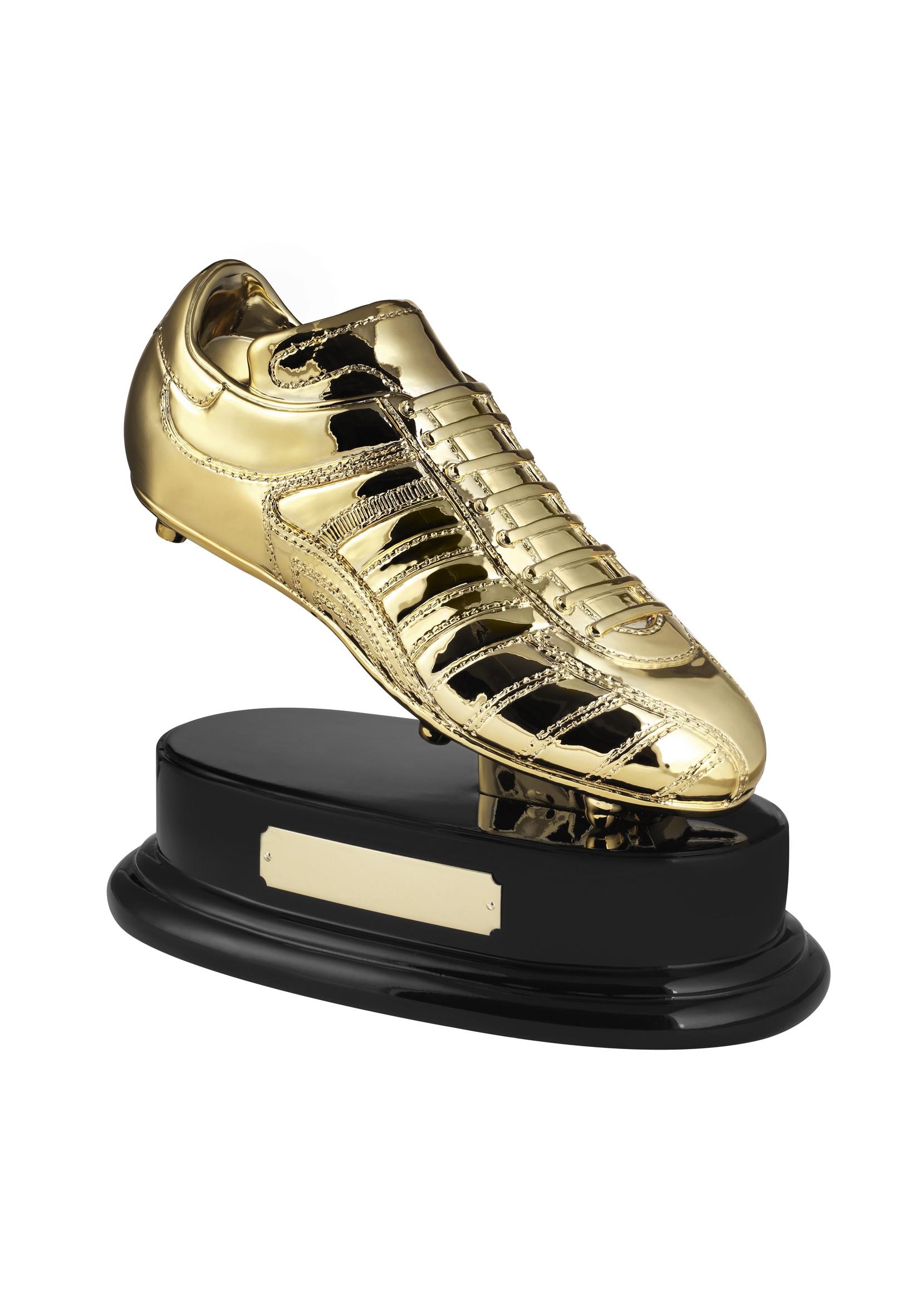 MB 10 x 12.5cm Golden Boot Football Award