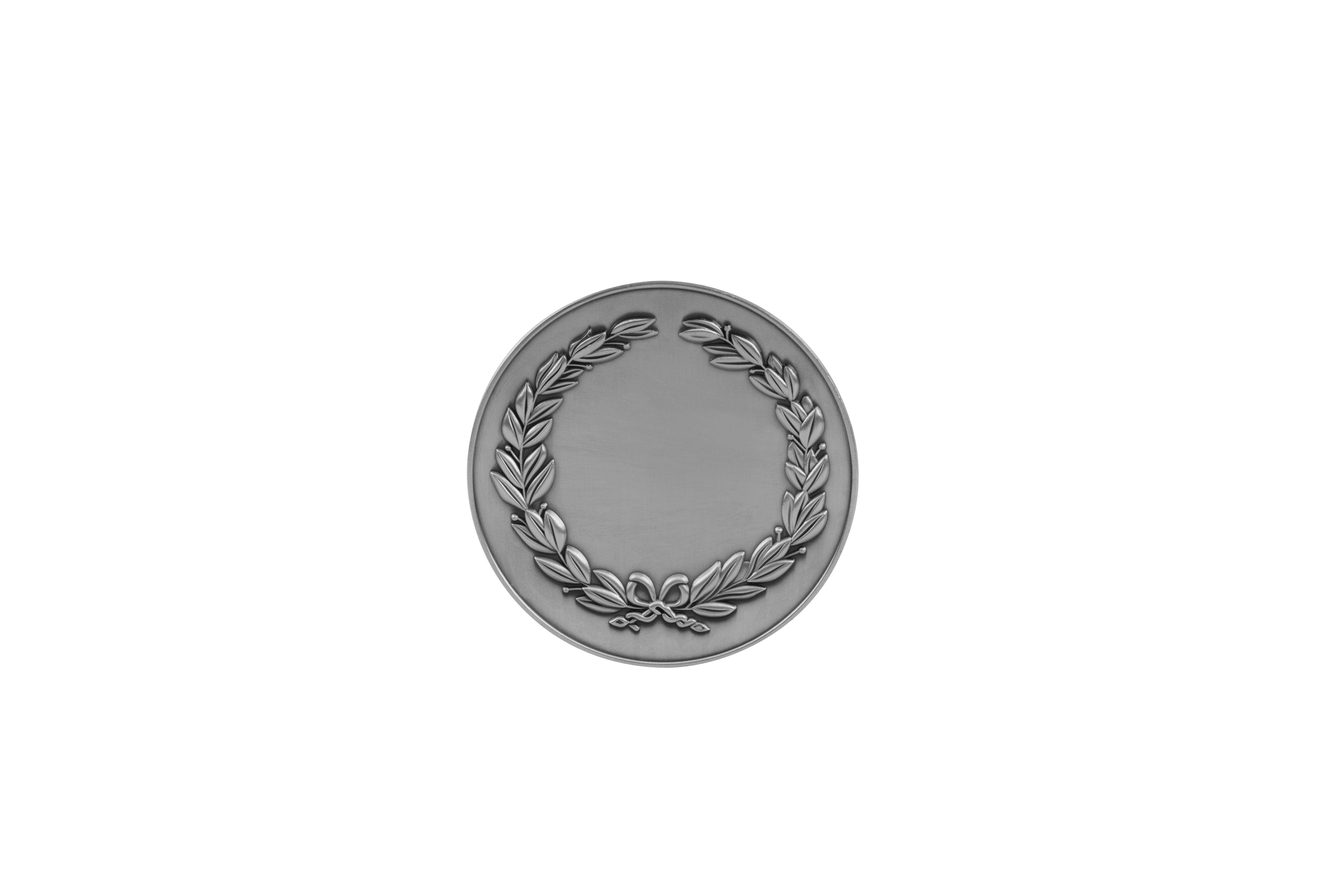 MB (P) 38mm  Ant Sil Finish Medal