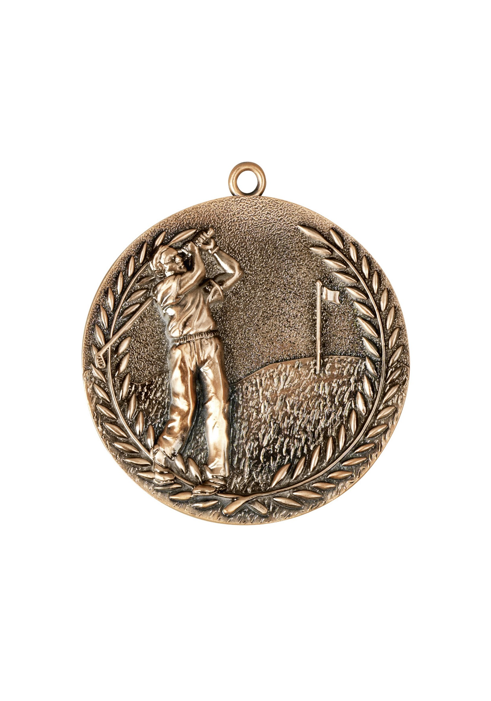 MB 68mm Bronze Finish Golf Medal