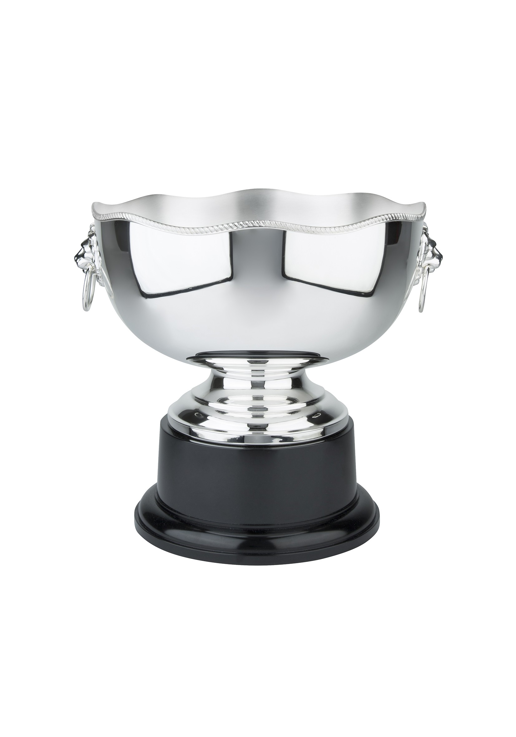 26cm  Wavy Edge Silver Plated Bowl  (plinth band included)