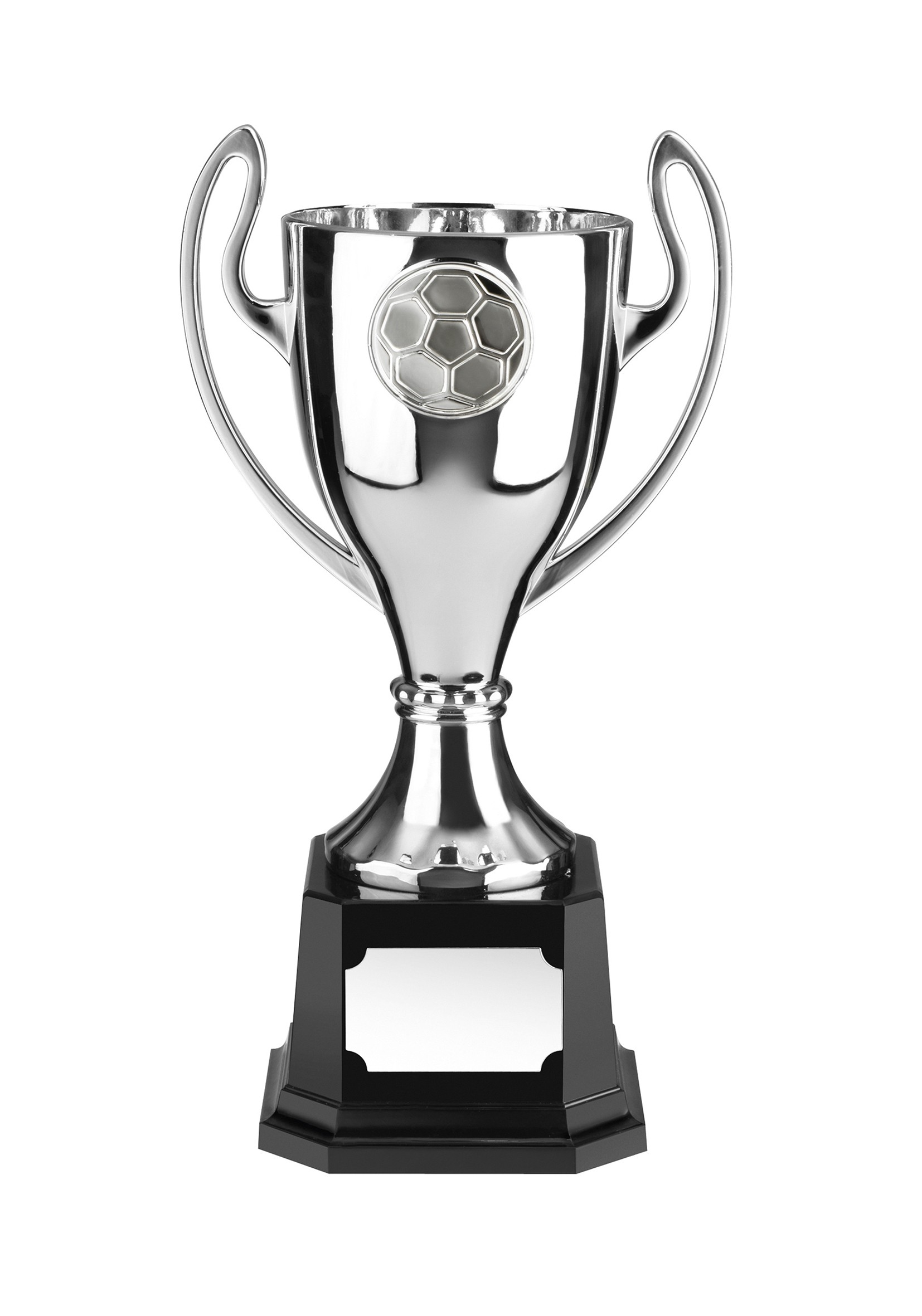 MB 17.5cm Silver Fin F/Ball Cup & Base